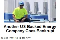 Another US-Backed Energy Company Goes Bankrupt