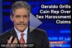 VIDEO: Geraldo Rivera Grills Herman Cain Spokesperson Over Sexual Harassment Claims
