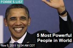 Barack Obama, Vladimir Putin, Hu Jintao Are Forbes' Most Powerful