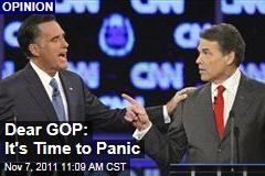 Election 2012: Republican Slate Should Have GOP Panicking, Writes Matt Latimer