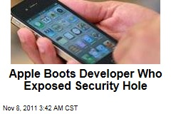 Apple Boots Researcher Charlie Miller for Exposing App Store Security Hole