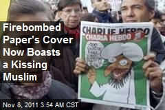 Firebombed Paper Now Boasts a Kissing Muslim