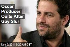 Brett Ratner Out as Oscar Producer After Gay Slur