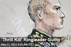 'Thrill Kill' Soldier Calvin Gibbs Guilty