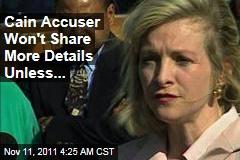 Herman Cain Accuser Karen Kraushaar Not Holding Joint Press Conference