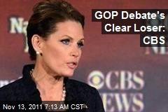 GOP Debate's Clear Loser: CBS
