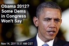 Election 2012: Some Democrats Won't Voice Support for Barack Obama