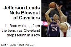 Jefferson Leads Nets Blowout of Cavaliers