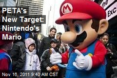 PETA's New Target: Nintendo's Mario