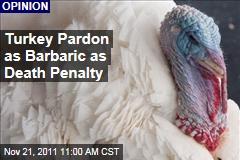 President's Thanksgiving Turkey Pardon a Grim Death Penalty Spoof: Justin Smith