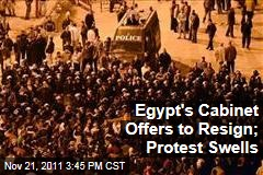 Egypt's Civilian Government Offers to Resign; Tahrir Square Activists Continue Protests
