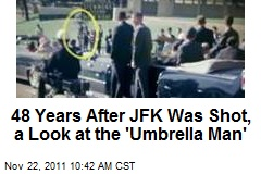 48 Years After JFK Was Shot, a Look at the 'Umbrella Man'