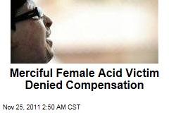 Iranian Acid Attack Victim Amenah Bahrami Denied Compensation