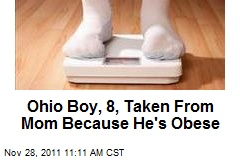 Ohio Boy, 8, Taken From Mom Because He's Obese