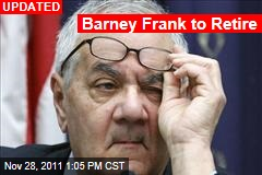 Barney Frank to Retire