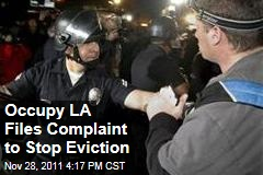 Occupy Los Angeles Files Complaint to Stop Eviction From City Hall Lawn