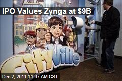 Zynga IPO Values Farmville Firm at $9B