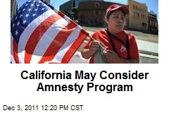 California May Consider Amnesty Program