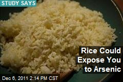 Rice Could Expose You to Arsenic