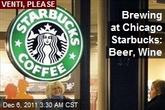 Some Starbucks Add Beer, Wine