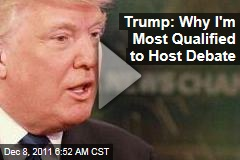 Donald Trump Debate: Why I'm Qualified as a Moderator