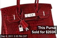 This Purse Sold for $203K