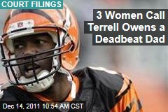 Terrell Owens Owes Child Support to 3 Women, They Claim in Court Filings