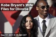 Kobe Bryant, Wife Vanessa, Divorcing