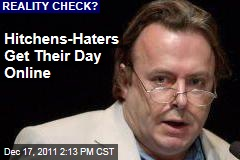 Critics of Christopher Hitchens Assail His 'Hagiography'