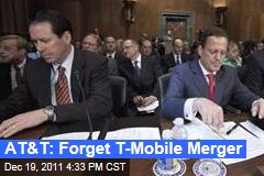 AT&T Drops Bid to Purchase T-Mobile