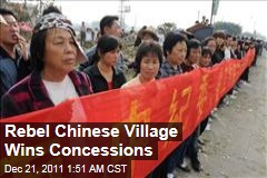 Wukan Protesters Win Concessions From