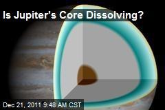 Is Jupiter's Core Dissolving?