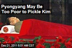 Kim Jong Il Will Likely Be Buried Instead of Embalmed