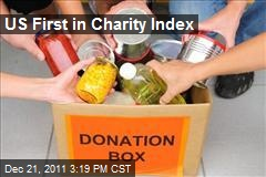 US First in Charity Index
