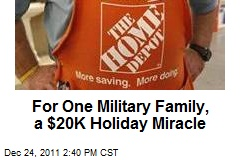 For One Military Family, a $20K Holiday Miracle