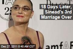 Sinead O'Connor's Marriage to Barry Herridge Over After Just 18 Days