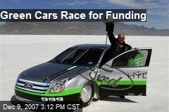 Green Cars Race for Funding