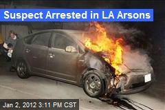 Suspect Arrested in LA Arsons