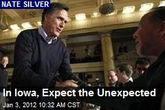 In Iowa, Expect the Unexpected