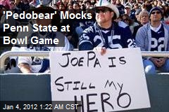 'Pedobear' Mocks Penn State at Bowl Game