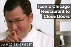 Chicago Restaurant Charlie Trotter's to Close Doors