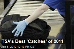 TSA's Best 'Catches' of 2011