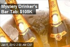 Here's to a $105K Bar Tab