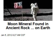 Moon Mineral Tranquillityite Found in Australia