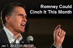 Romney Could Cinch It This Month