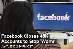 Facebook Shuts Down 45K Accounts to Stop Ramnit Worm From Stealing Login Information