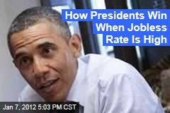Falling Unemployment Rate Could Aid President Obama Re-Election