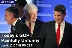 Republican Presidential Candidates Lack Humor: John Dickerson