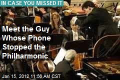 Meet the Guy Whose Phone Stopped the Philharmonic