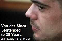 Joran Van der Sloot Sentenced to 28 Years for Murder of Stephany Flores